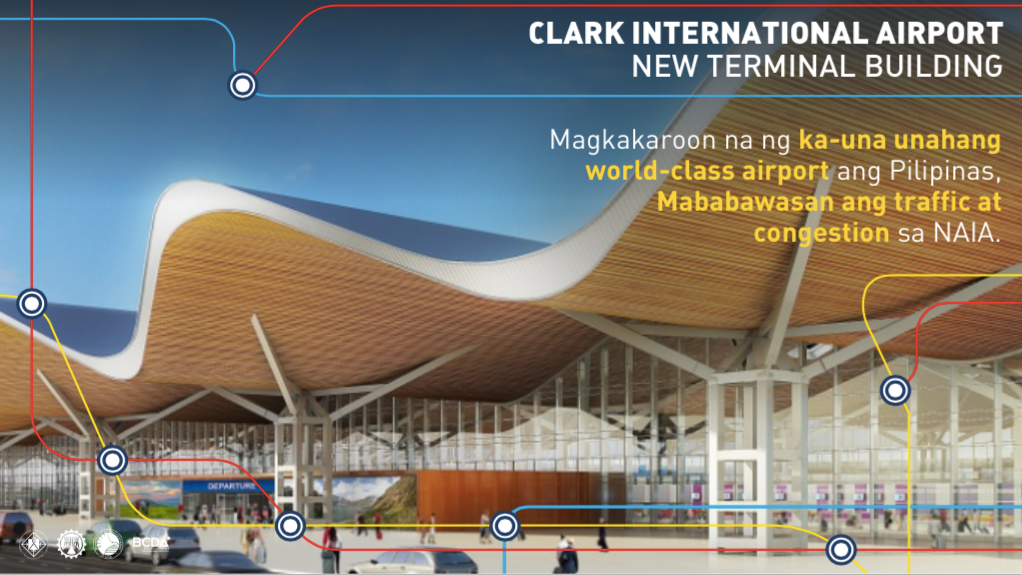 Duterte administration reveals big infrastructure projects philippine property network Airport planning and design course